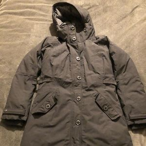 Women's medium black north face parka